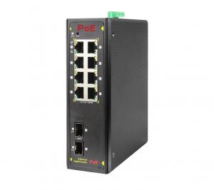 Коммутатор PoE индустриальный управляемый GbE 8-портовый ONV IPS33108PFM